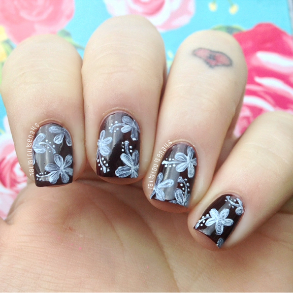 May Nail Artist of the Month: Talia Louise Nails - The Little Canvas