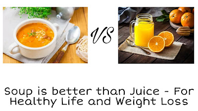 Souping is better than Juicing - Healthy Life & Weight Loss