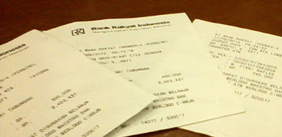 Hati-Hati Penipuan Transfer Struk ATM Palsu dan Pengiriman Lewat Ojol