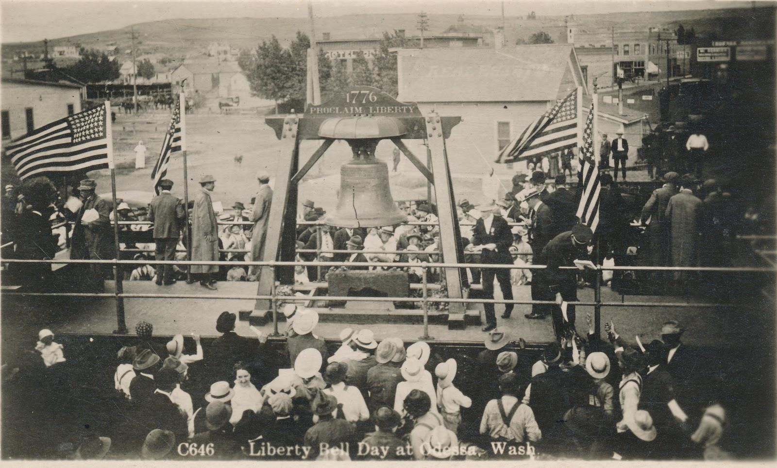 Big Bend Railroad History Liberty Bell At Odessa