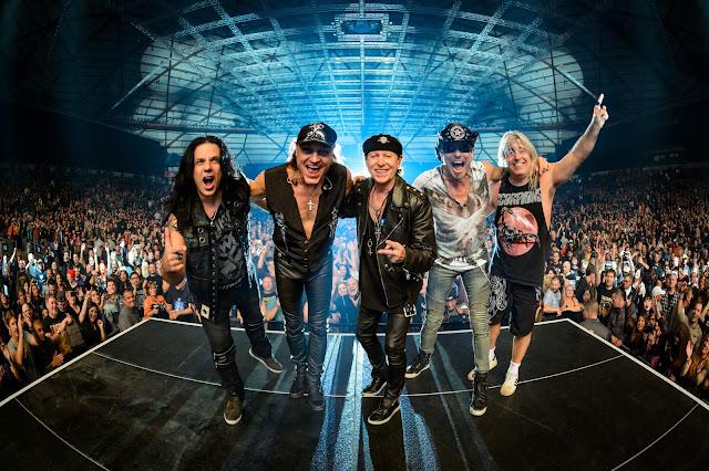 """Scorpions: """"os caras do Iron Maiden preferem tocar cedo"""""""