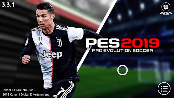 PES 2019 Mobile v3.3.1 Kits,Graphics Patch Update Android