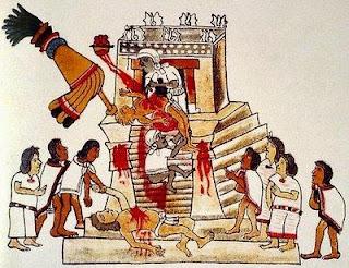 religión maya - sacrificios humanos