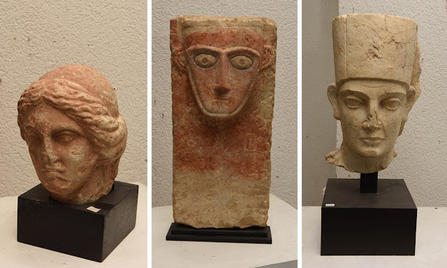Swiss seize artefacts looted from Syria's Palmyra