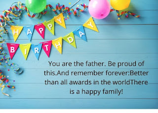 Birthday Wishes for Father from Son