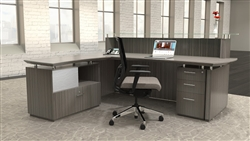 Mayline Sterling Series Reception Desk STG31