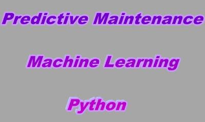 Predictive Maintenance Machine Learning Python