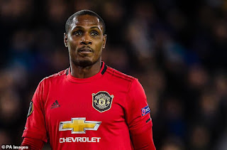 Manchester United striker, Odion Ighalo vows to leave the pitch if he's racially abused again as he reveals he was 'called all sorts of names' in China