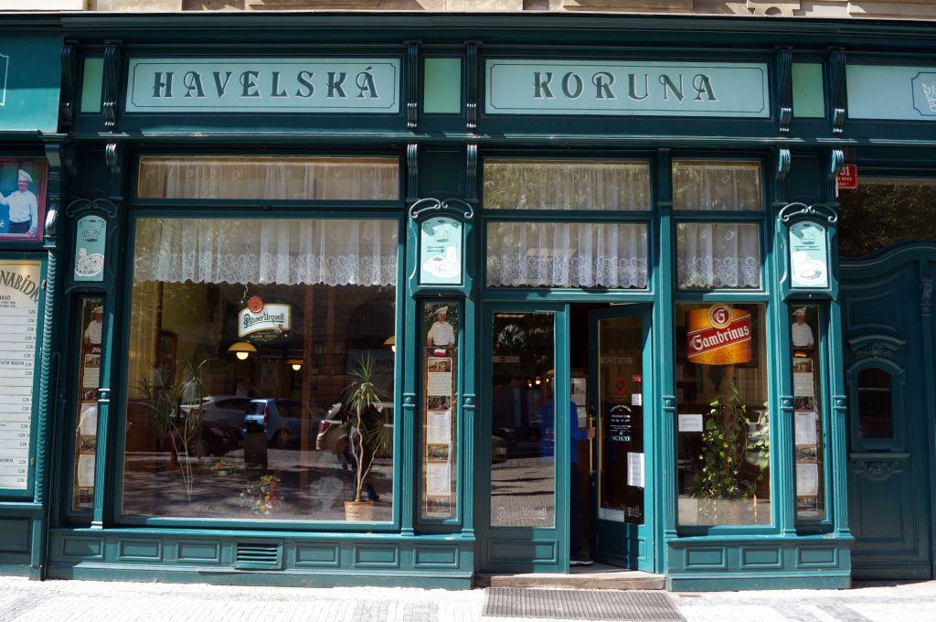 Gdzie zjeść w Pradze - Havelská Koruna