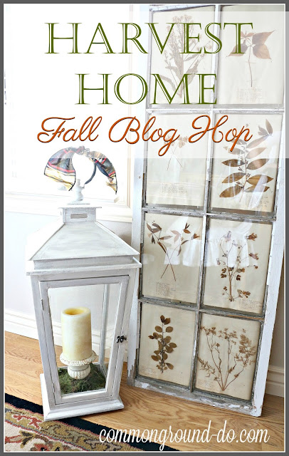 Amber from Follow the Yellow Brick Home has gathered up a great group of  bloggers who love Fall and invite you into their homes for a little tour of  their. common ground   Harvest Home Fall Blog Hop