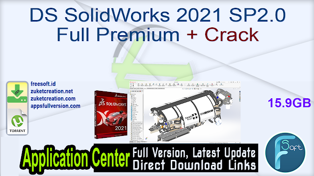 DS SolidWorks 2021 SP2.0 Full Premium + Crack