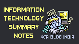 Information Technology Summary Notes