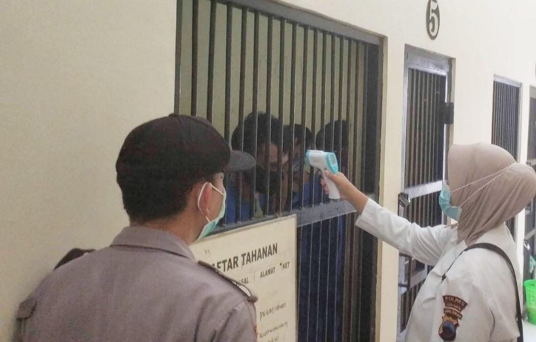 Selama Pandemi Tahanan Polres Kebumen Tak Boleh Dibesuk