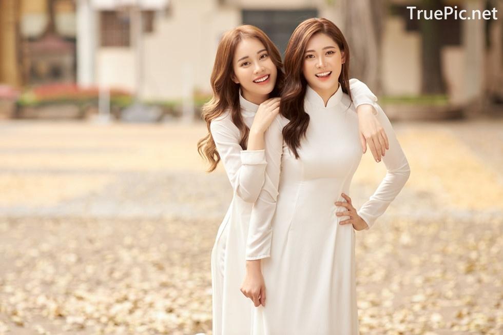 Image Vietnamese Model - Vietnamese Student Dresses (Ao Dai) - TruePic.net - Picture-5