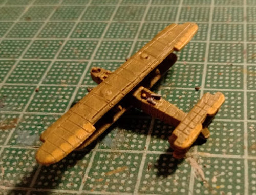 Handley Page 0/400 1/600 scale model plane