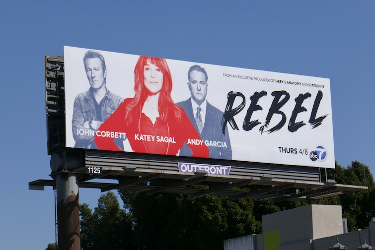 Rebel series premiere billboard