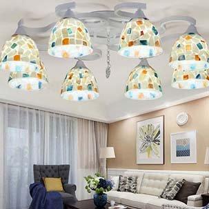 Những mẫu đèn trang trí phòng khách độc đáo ấn tượng cho không gian nhà bạn
