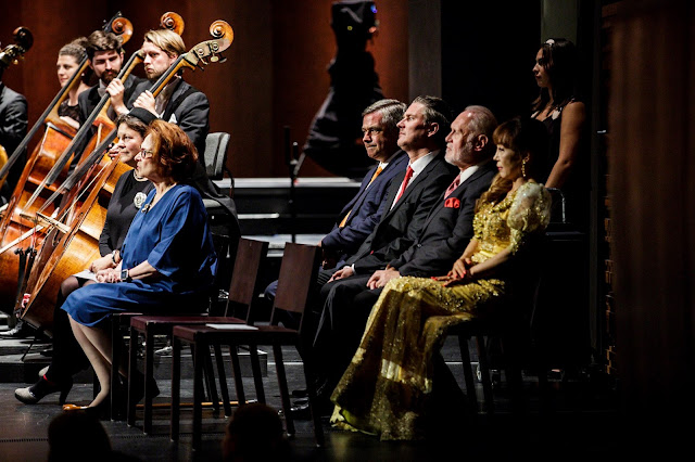 Queen Sonja International Music Competition 2019 - The jury: Tatjana Kandel, Diane Zola, Robert Korner, Stefan Herheim, Sergei Leiferkus, Sumi Jo (Photo Adrian Nielsen)*