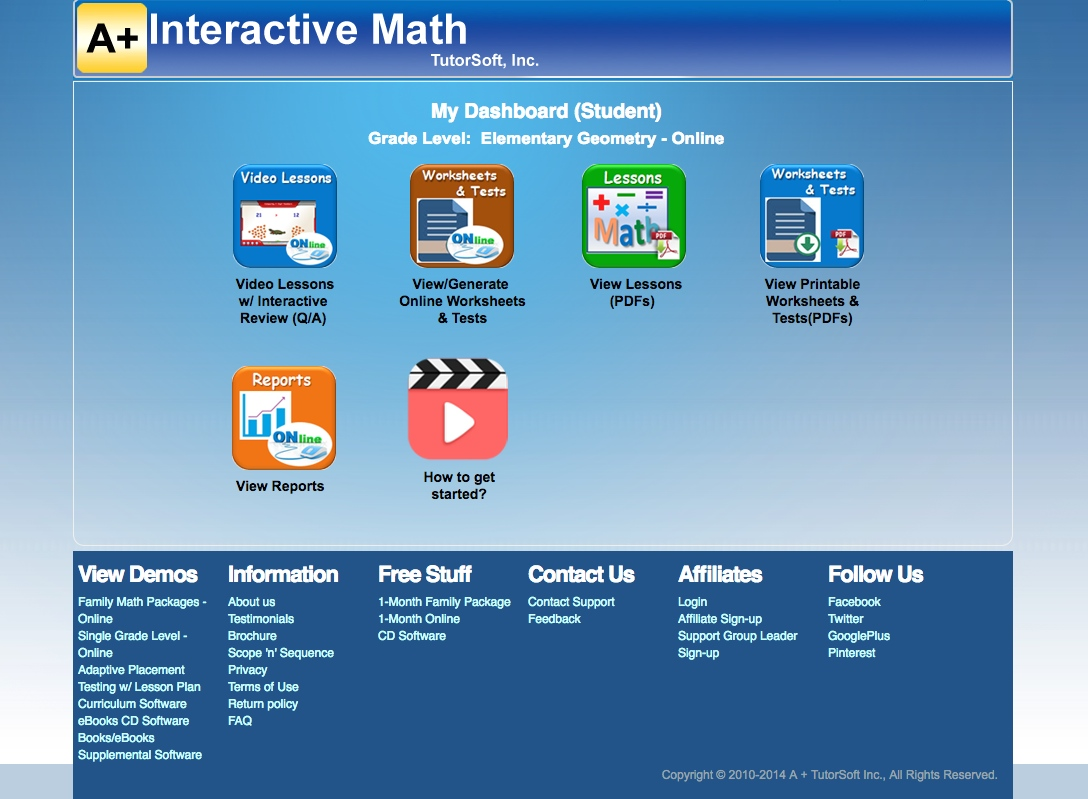 A Learning Journey: TOS Review: Math Mini-Courses from A+ ...
