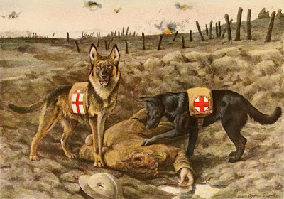 Service-Dogs-Ww1-World-War-One-German-Sh