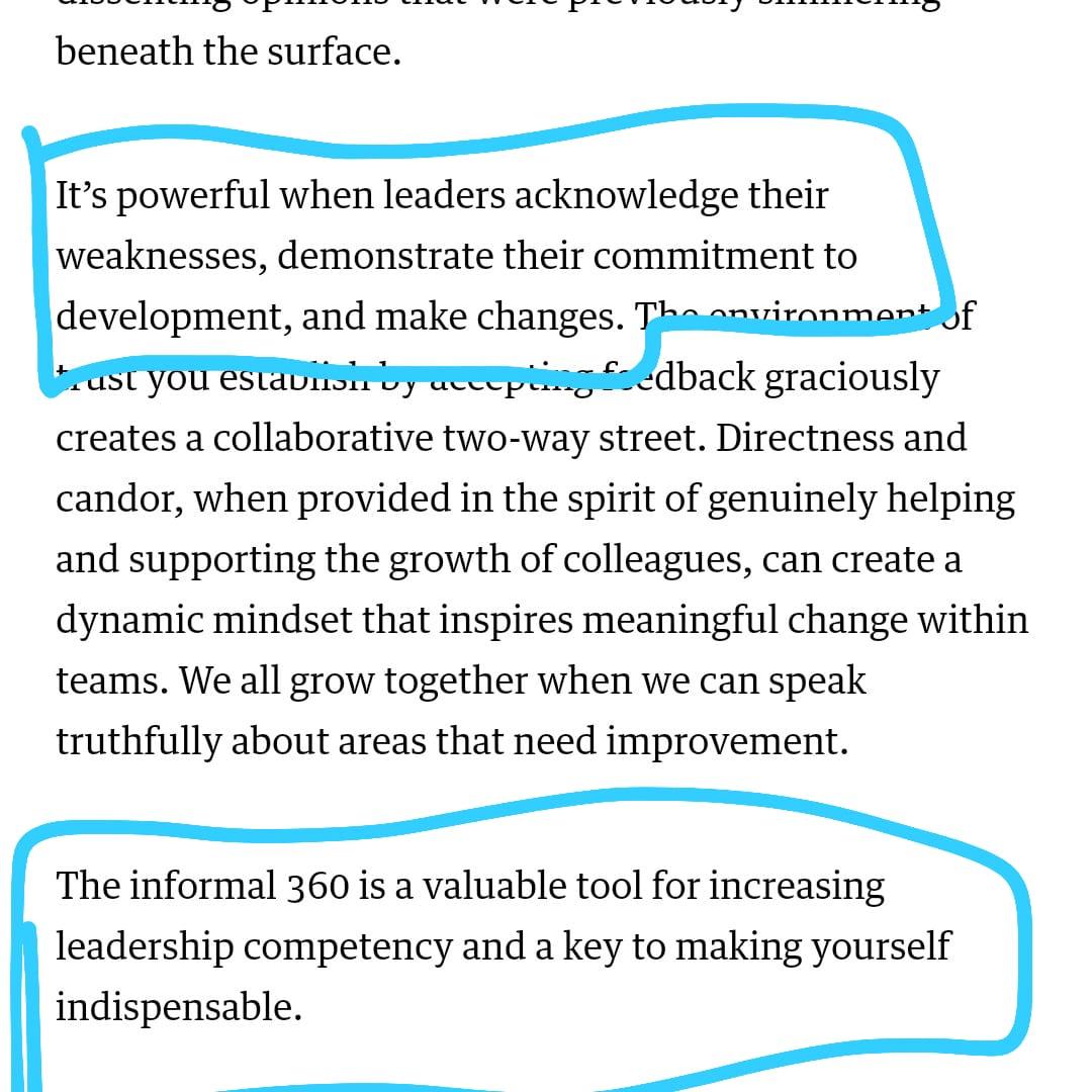 artikel HBR tentang kritik pada pemimpin
