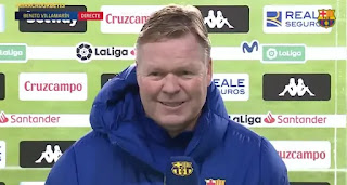 Koeman speaks on Betis squad rotations: 'It's true we are thinking about the cup'