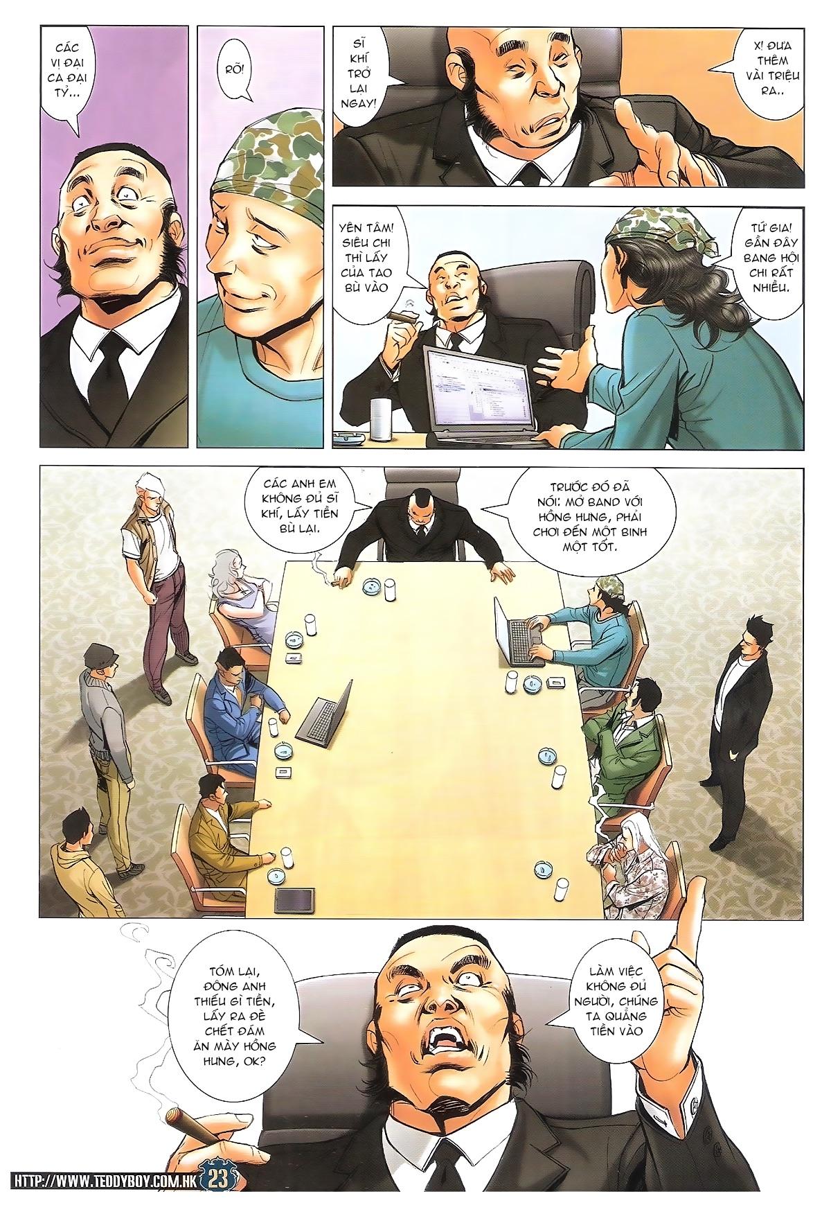 Người Trong Giang Hồ chapter 1706: kịch chiến trang 22