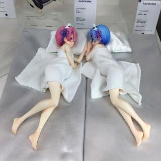 Novedades de Aquamarine y Kadokawa en el Wonder Festival 2018 Winter