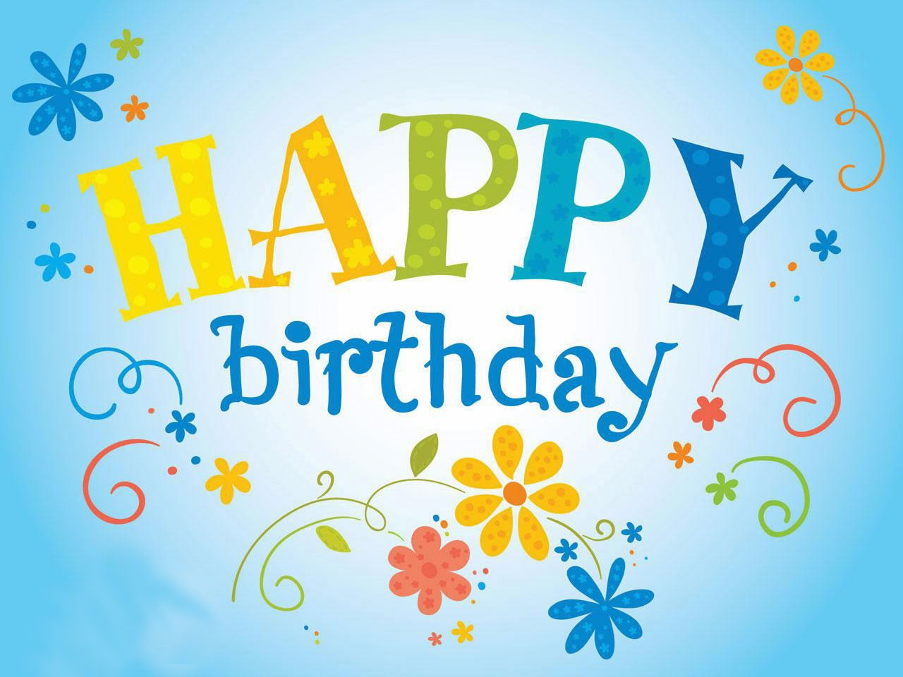 Happy Birthday Wishes Design Poster | Happy Birthday Wishes, Quotes