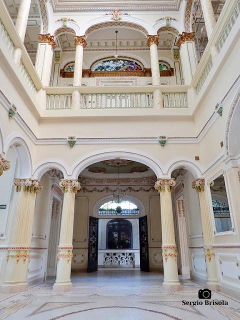 Palacete Basílio Jafet (Hall central - átrio)