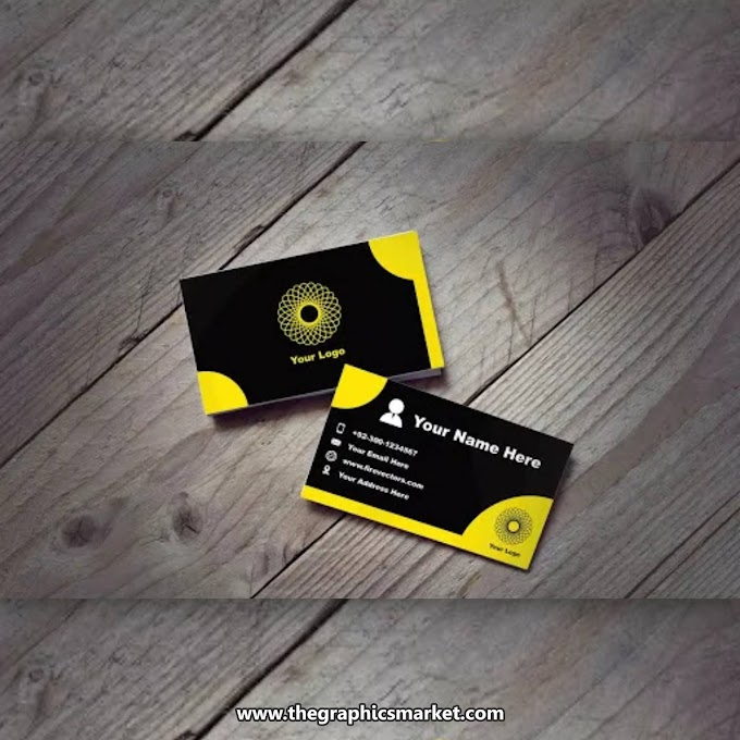 Business Card PSD Mockup   Free Download