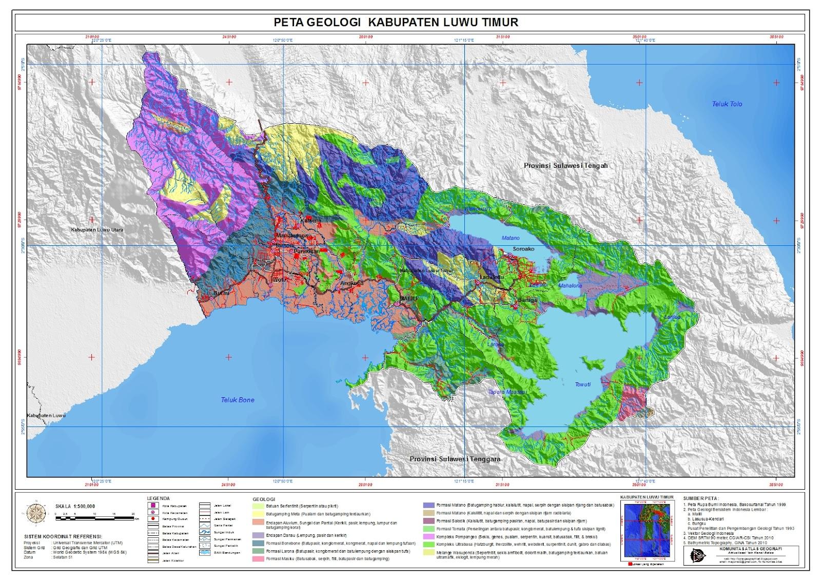 Komunitas ATLAS: Kabupaten Luwu Timur