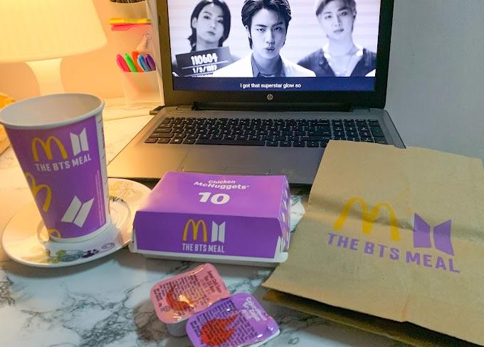 The BTS Meal honest review | McDonald's X BTS