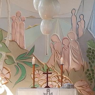 O altar da nossa comunidade jamais ficará vazio.