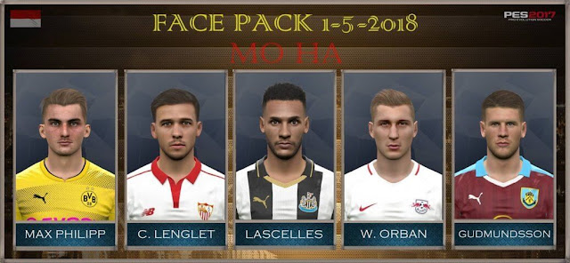 New Facepack 01-05-2018 PES 2017