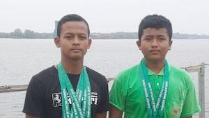 Atlet Dayung Medan Denai Borong Empat Emas Porkot XI 2019