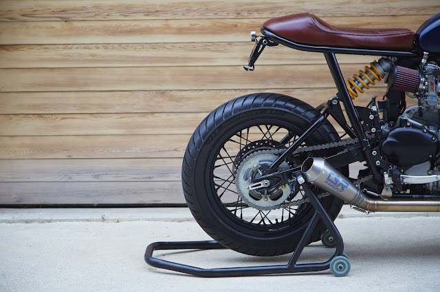 Triumph Bonneville 2008 By Kiddo Motors Hell Kustom