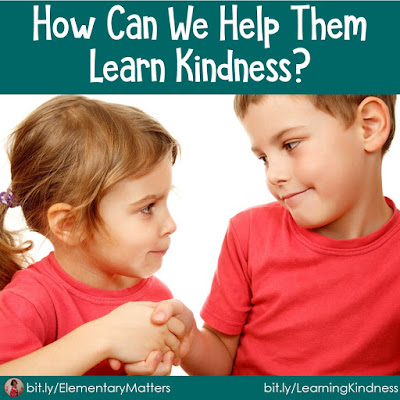 How Can We Help Them Learn Kindness? This post shares three different strategies for helping children learn to be kind to one another. It includes a Readers Theater freebie and links to several other freebies. #kindnessnation, #weholdthesetruths