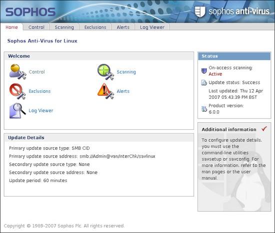 Sophos Antivirus Untuk Linux