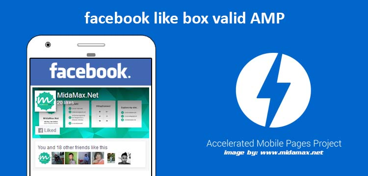 Facebook Like Box di Blog Valid AMP