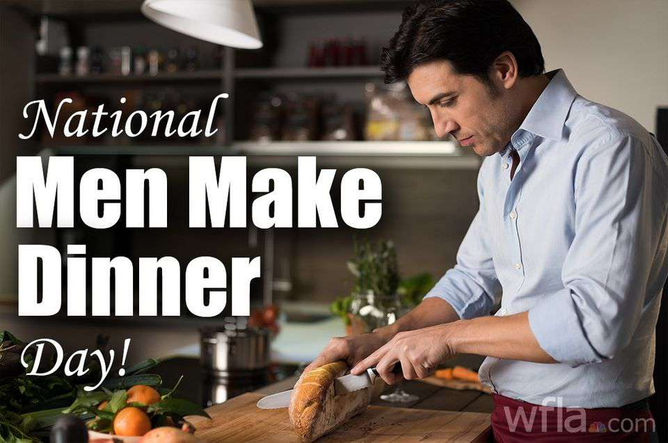 National Men Make Dinner Day Wishes Awesome Images, Pictures, Photos, Wallpapers