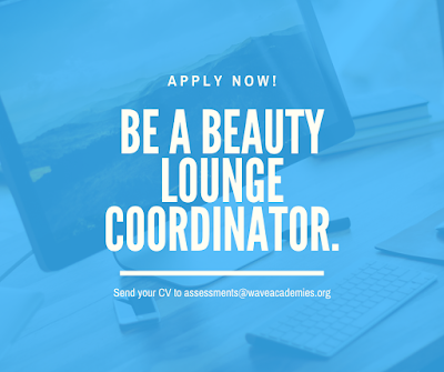 Position for a Female Beauty Lounge Coordinator in Lekki.