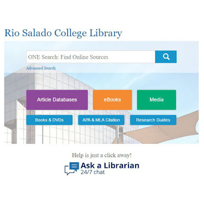 "Graphic of ""advanced search"" on Rio Salado website"