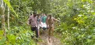 Rudy Pemburu pelanduk ditemukan tewas dalam pondok kebun warga tangsirasib kecamatan Singkep barat