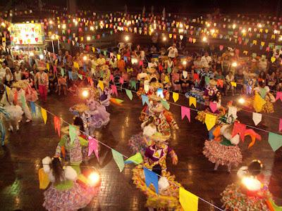 festas juninas, danças, quadrilhas, san antonio, san pedro