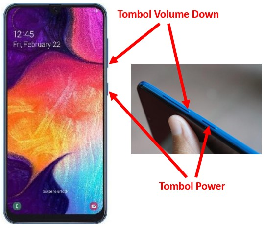 Cara Screenshot Samsung A50 A50s A51 Tombol Or Fitur Pakar Dokumen