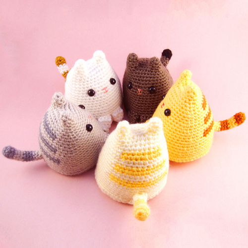Dumpling Kitty - Free Pattern