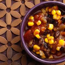 Easy recipe for black bean and corn salsa or quesadilla filling