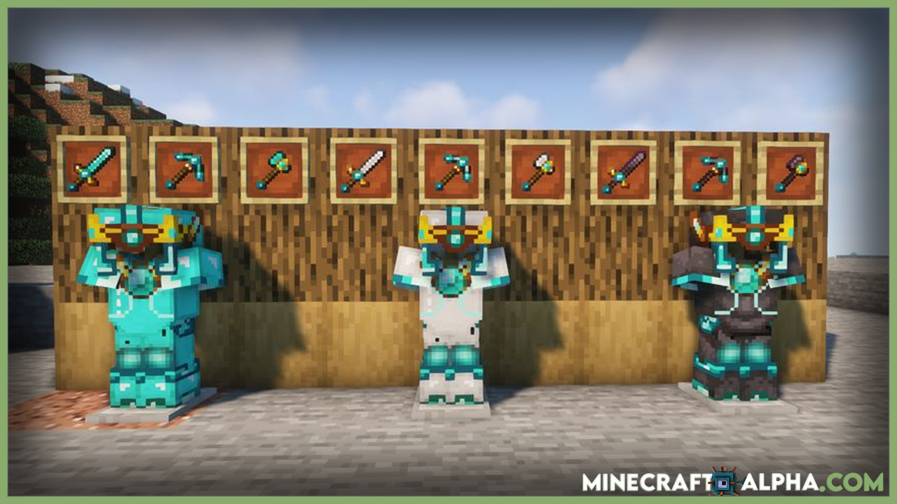 Minecraft Upgradeable Armors & Tools Mod 1.17.1/1.16.5 (Upgrade And Armor)