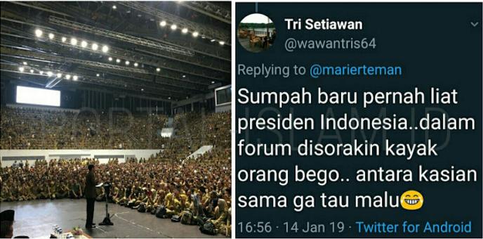 Salah Sebut Kepanjangan PPDI, Jokowi Disoraki Puluhan Ribu Perangkat Desa